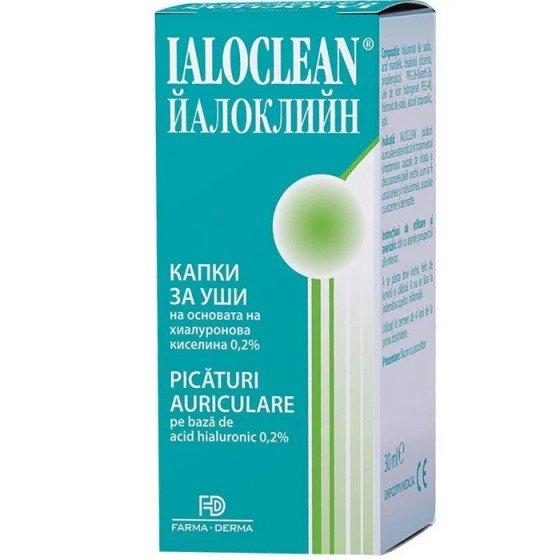 IALOCLEAN / ЙАЛОКЛИЙН капки за уши с хиалуронова киселина при екзема и дерматит