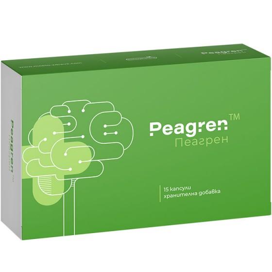 PEAGREN / ПЕАГРЕН помощ за нервната система при мигрена и главоболие